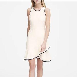 NWT Banana Republic white sleeveless dress 10T